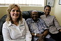 L-R- Lorraine Rademeyer (Alumni) with Archbishop Tutu and new Awardee, Thozama Rululu (10707767913).jpg