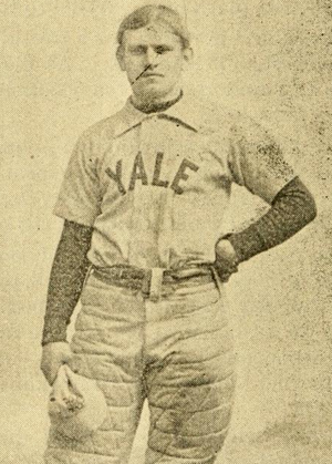 Laurie Bliss - Bliss pictured in The Official National Collegiate Athletic Association football guide, 1893