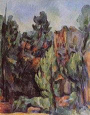 La Carrière de Bibémus, par Paul Cézanne, c. 1898, collection privée, Yorck.jpg