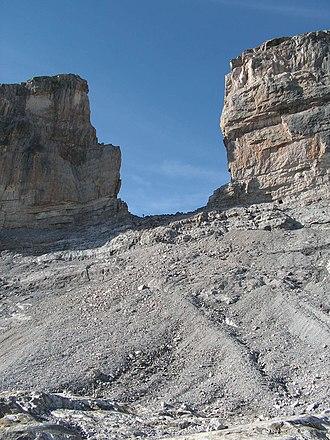 Ordesa y Monte Perdido National Park - Image: La breche de roland 2
