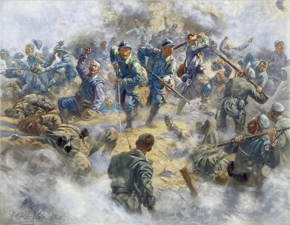 La reprise de Douaumont, le 24 octobre 1916