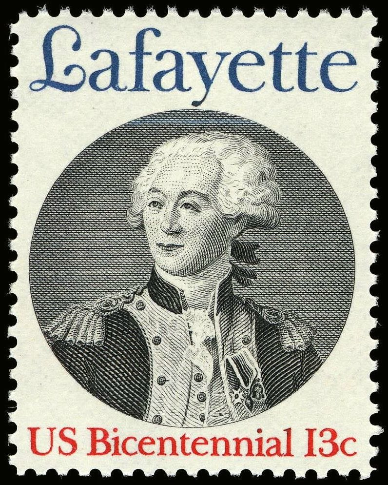 Lafayette 13c 1977 issue