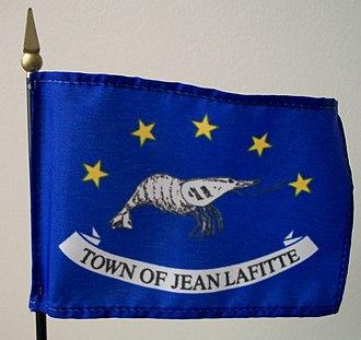 Jean Lafitte, Louisiana - Image: Lafitte Flag