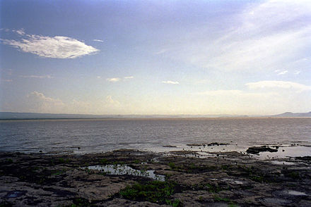 View of Lake Managua from Tipitapa. LakeManagua Tipitapa1.jpg