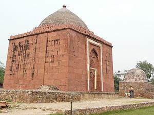 Jahanpanah - Lal Gumbad (Rakabwala Gumbad)