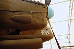 Lancaster FM136 right inner engine at Aero Space Museum of Calgary Flickr 6202266916.jpg
