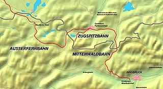 Mittenwald Railway railway line