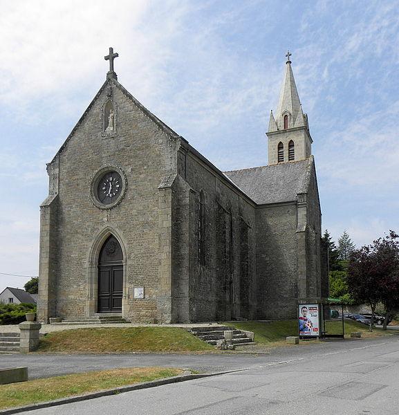 Église Notre-Dame-de-la-Tour en Languédias (22).