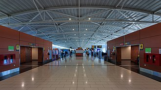 Larnaca International Airport - Departure gate area