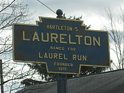 Official logo of Laurelton, Pennsylvania