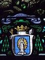 Le Folgoët (29) Basilique Notre-Dame - Vitrail de la dation du Rosaire - 02.jpg