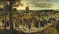 Le cortège de noce, par Pieter Brueghel le Jeune.jpg