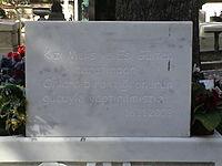 Le pierre tombale de Ahmet Kaya dans le Cimetière du Père-Lachaise 3.JPG