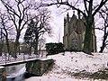 Lehsen Turmhügel Grabkapelle Familie von Laffert 2013-01-21 008.JPG