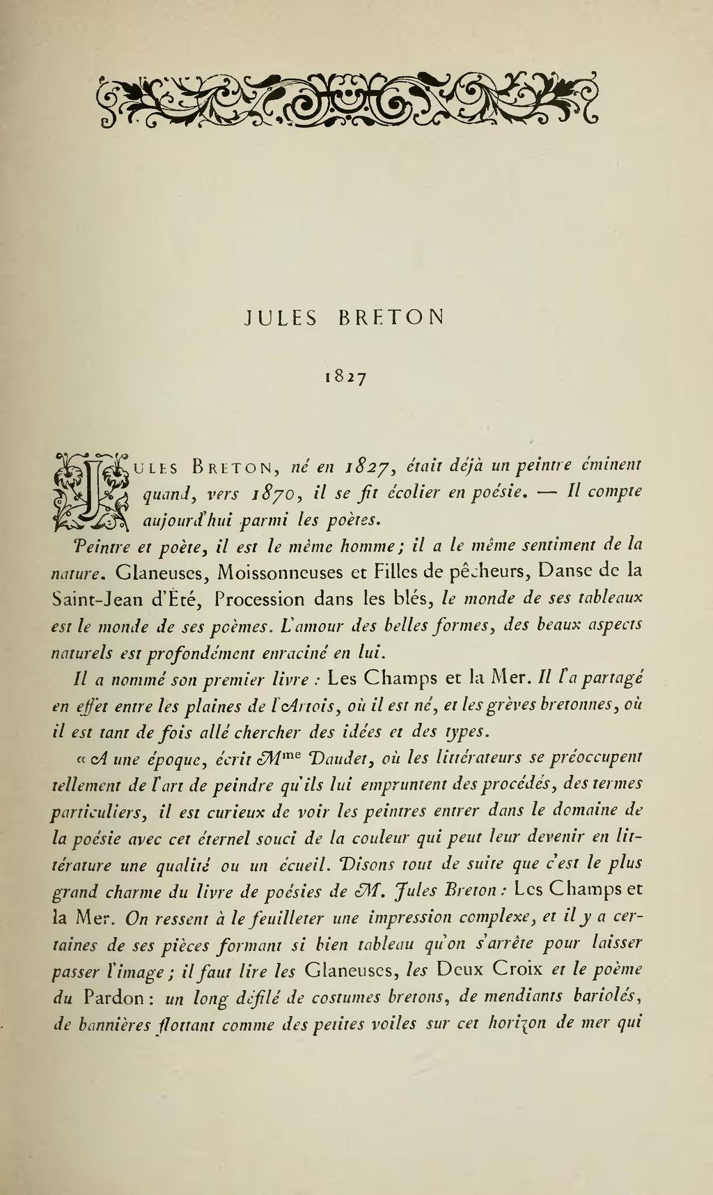 Pagelemerre Anthologie Des Poètes Français Du Xixème