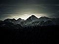 Les Tres Piques Roges, Puig de la Cometa, Peric Gran i Peric Petit.jpg