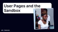Lesson 4 User Pages and Sandbox Presentation.pdf