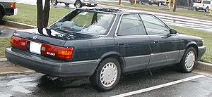 Lexus ES - Rear view of Lexus ES 250 (VZV21)