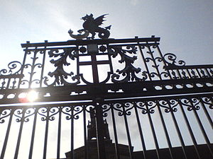 The Leys School - School gates