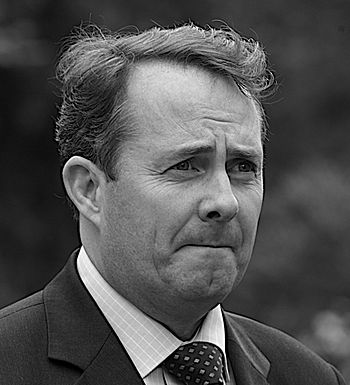 English: Liam Fox, British Conservative politi...