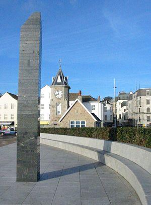 Saint Peter Port - Liberation Monument