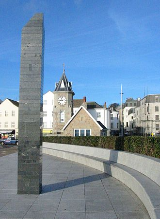 Saint Peter Port - Liberation Monument
