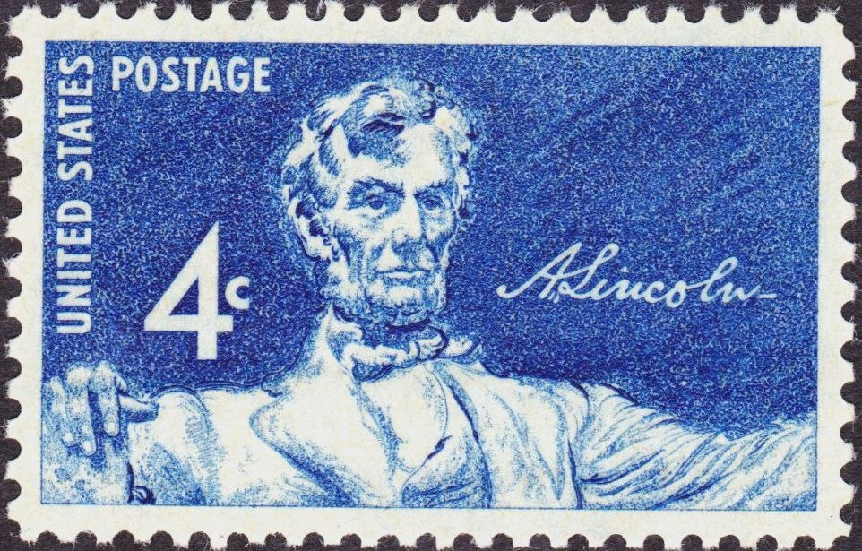 Lincoln Memorial Issue 1959-4c