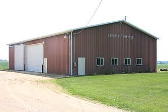 Lincoln Township, Ogle County, Illinois - Lincoln Township building in Haldane, Illinois.