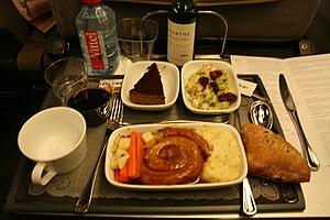 Lincolnshire sausage dinner - Eurostar Cuisine...