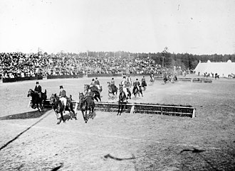 Lindarängen - Equestrian event in 1894