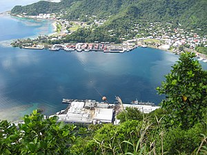Pago Pago Harbor - Image: Line 5318 Flickr NOAA Photo Library