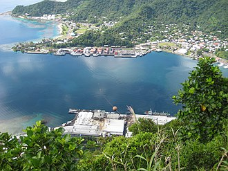 Pago Pago Harbor - Pago Pago Harbor is capable of accommodating the largest ships in the world.