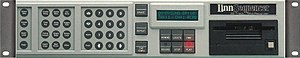 LinnSequencer - Image: Linn Sequencer hardware MIDI sequencer front panel 300dpi