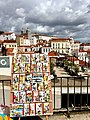 Lisbon in a day - Alfama district painting (41037483922).jpg