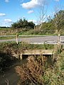 Little bridge at lane junction near Tannington - geograph.org.uk - 586685.jpg