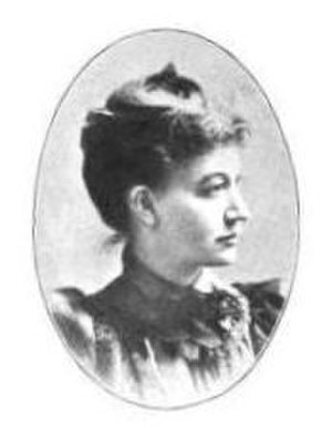 Lizzie Crozier French - Photograph from the History of the Woman's Club Movement in America (1898)
