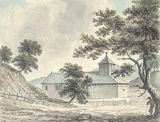 Llanllwchaiarn Church