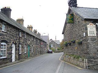 Llanuwchllyn Human settlement in Wales
