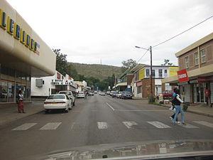 Lobatse - Town centre