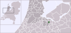 Location of Laren