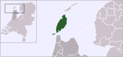 Location of Oudeschild