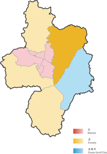 Location of Feidong in Hefei.png