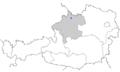 Location of Sankt Ulrich im Mühlkreis (Austria, Oberoesterreich).png
