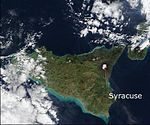Location of Syracuse in Sicily.jpg
