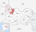 Locator map of Arrondissement Avallon 2019.png