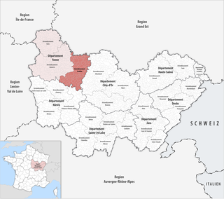 Arrondissement of Avallon Arrondissement in Bourgogne-Franche-Comté, France