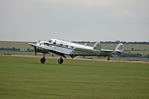 Lockheed Model 12 Electra Junior - French-registered Lockheed 12A F-AZLL