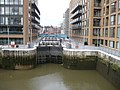 Locks at Grosvenor Waterside Development - geograph.org.uk - 729874.jpg