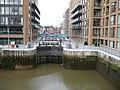 Locks at Grosvenor Waterside Development - geograph.org.uk - 729874.jpg