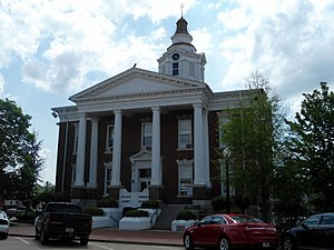 Logan County, Arkansas - Image: Logan County Courthouse (east), Paris, AR 002